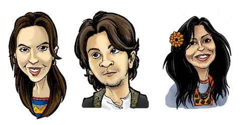 Celso Ludgero Portfólio: Caricaturas