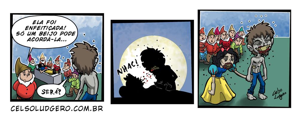 Tirinha sugerida pelo amigo My Friend Zombie... grande Parceiro!
